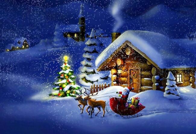 Poesie Di Natale Tradizionali.Alla Vigilia Di Natale Poesie Di Natale